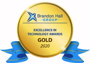 Brandon Hall Gold Award 2020 Excellence in Technology Awards